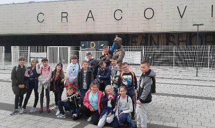 Wycieczka na stadion Cracovii