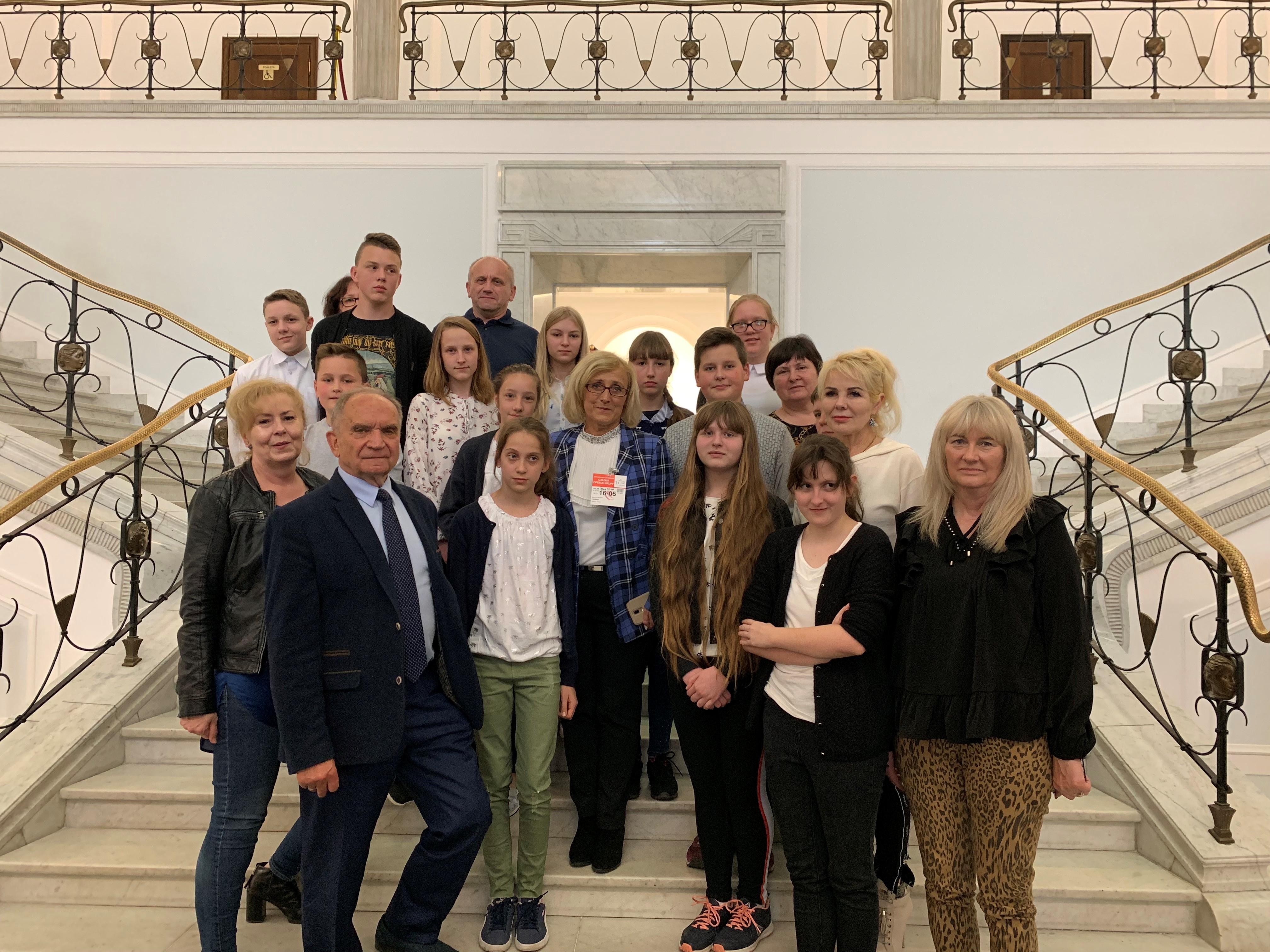 Z wizytą w Sejmie Rzeczypospolitej Polskiej