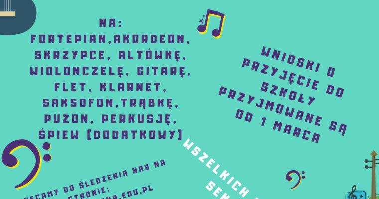 Nabór do Szkoły Muzycznej w Skawinie